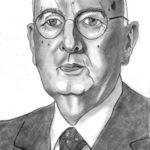 Giorgio Napolitano disegno matita