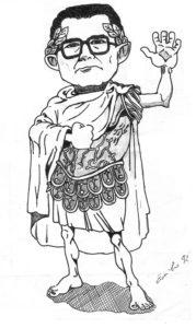 giulio andreotti caricatura