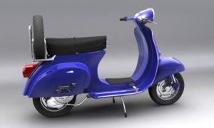 Vespa 150 Primavera 3D