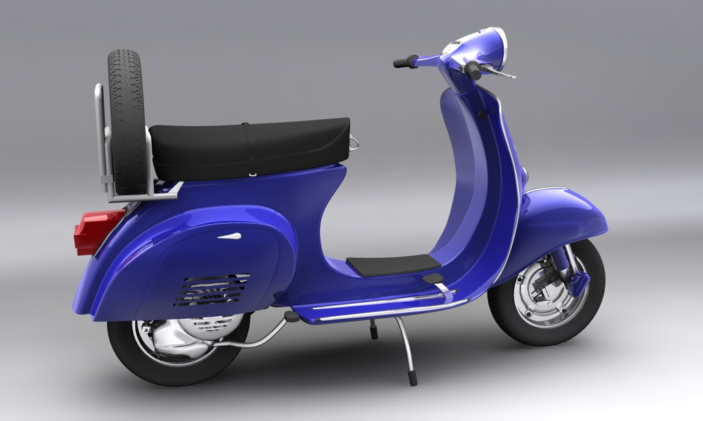 Vespa Piaggio 150 Primavera 3D