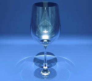 Creating a Wine Glass whit Autodesk 3ds Max