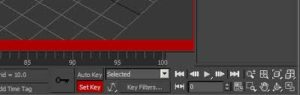 Setting Kayframes in Set Key Mode -3ds Max