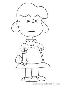 Lucy disegno da colorare