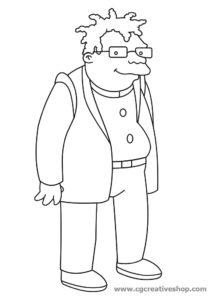 Conrad di Futurama - disegno da colorare