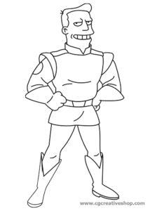 Zapp Brannigan - Futurama Vectors