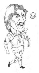 Paolo Maldini, caricature calciatori