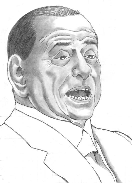 Silvio Berlusconi capo di Forza Italia e Mediaset