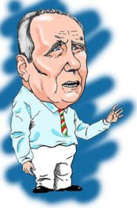 Caricatura Carlo Azeglio Ciampi