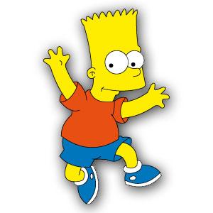 Bart Simpson Free Vector download
