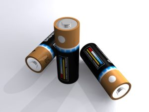 Detailed Eletctric Battery 3D Free download