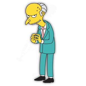 Monty Burns (Simpson) Free Vector download