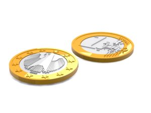 german euro coin 3d free