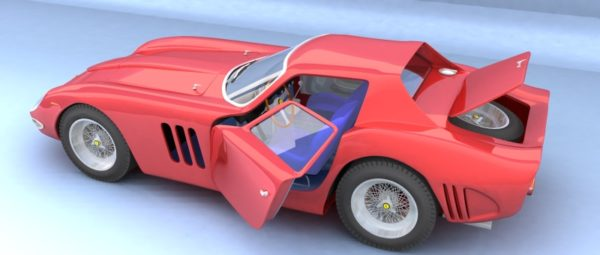 Ferrari 250 GTO Model 3D