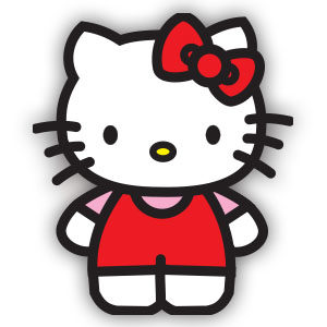 Hello Kitty Free Vector download