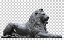 Lion Nelson's Column Trafalgar Square PSD Free