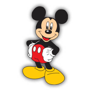 Mickey Mouse (Disney) Free Vector download