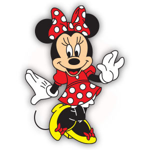 Minnie Mouse (Disney) Free Vector download