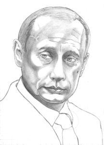 Vladimir Putin president of Russia