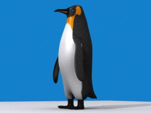 Emperor Penguin 3D Free