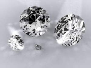 diamonds 3d free objects