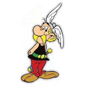 Asterix Le Gaulois Free Vector download
