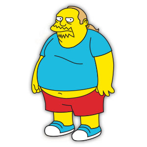 Comic Book Guy (The Simpson) Free Vector download