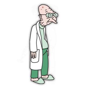 Professor Farnsworth (Futurama) Free Vector download