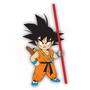 Goku (Dragon Ball) Free Vector download