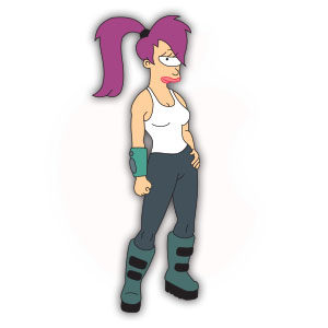 Turanga Leela (Futurama) Free Vector download