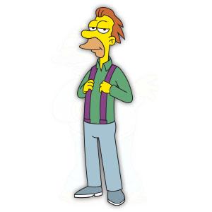 Lenny Leonard (The Simpson) Free Vector download