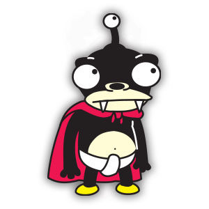 Nibbler (Futurama) Free Vector download