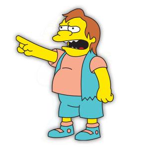 Nelson Muntz (The Simpson) Free Vector download