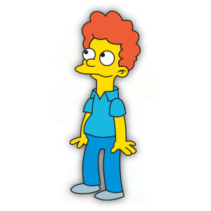 Rod Flanders (The Simpson) Free Vector download