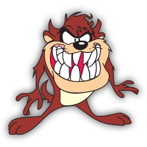 Tasmanian Devil (Looney Tunes) Free Vector download