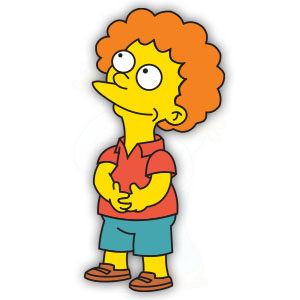 Todd Flanders (The Simpson) Free Vector download