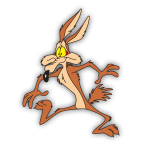 Wile E. Coyote (Looney Tunes) Free Vector download