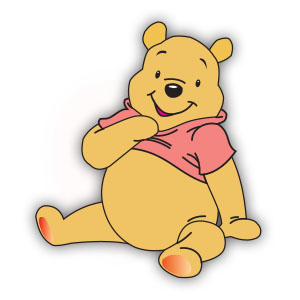 Winnie The Pooh (Disney) Free Vector download