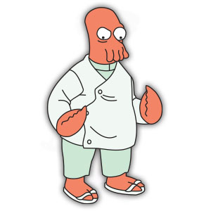 Doctor Zoidberg (Futurama) Free Vector download