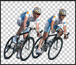 Sport Cyclists Free PSD (Photoshop) file download