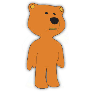 Beautiful Teddy Bear Vector Free download
