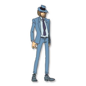 Jigen Daisuke (Lupin III) free vector download