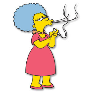 Patty Bouvier (The Simpsons) Free Vector download