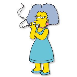 Selma Bouvier (The Simpsons) Free Vector download