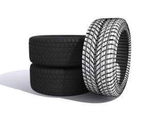 Car Tires Object 3d Free download