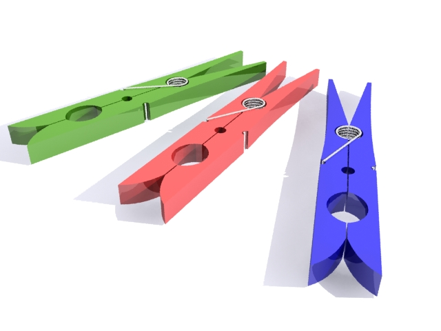 clothespin 3d object free download