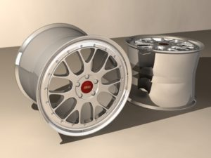 Rims (Wheels) Car 3D Free Object download