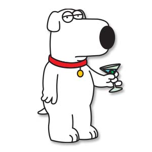 Brian Griffin (Family Guy) Free Vector download