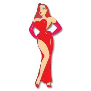 Jessica Rabbit Free Drawing Vector download