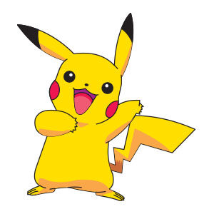 Pikachu - Pokèmon free vector download