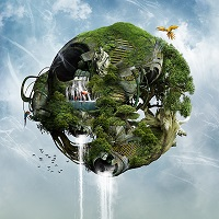 biomechanical world Photoshop